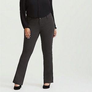 Torrid - Dark Grey Premium Ponte Trouser